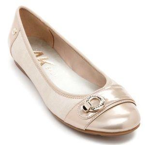 Anne Klein Sport Azi Beige Ballet Flats